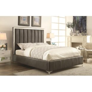 Orren Ellis Cassella Upholstered Panel Bed