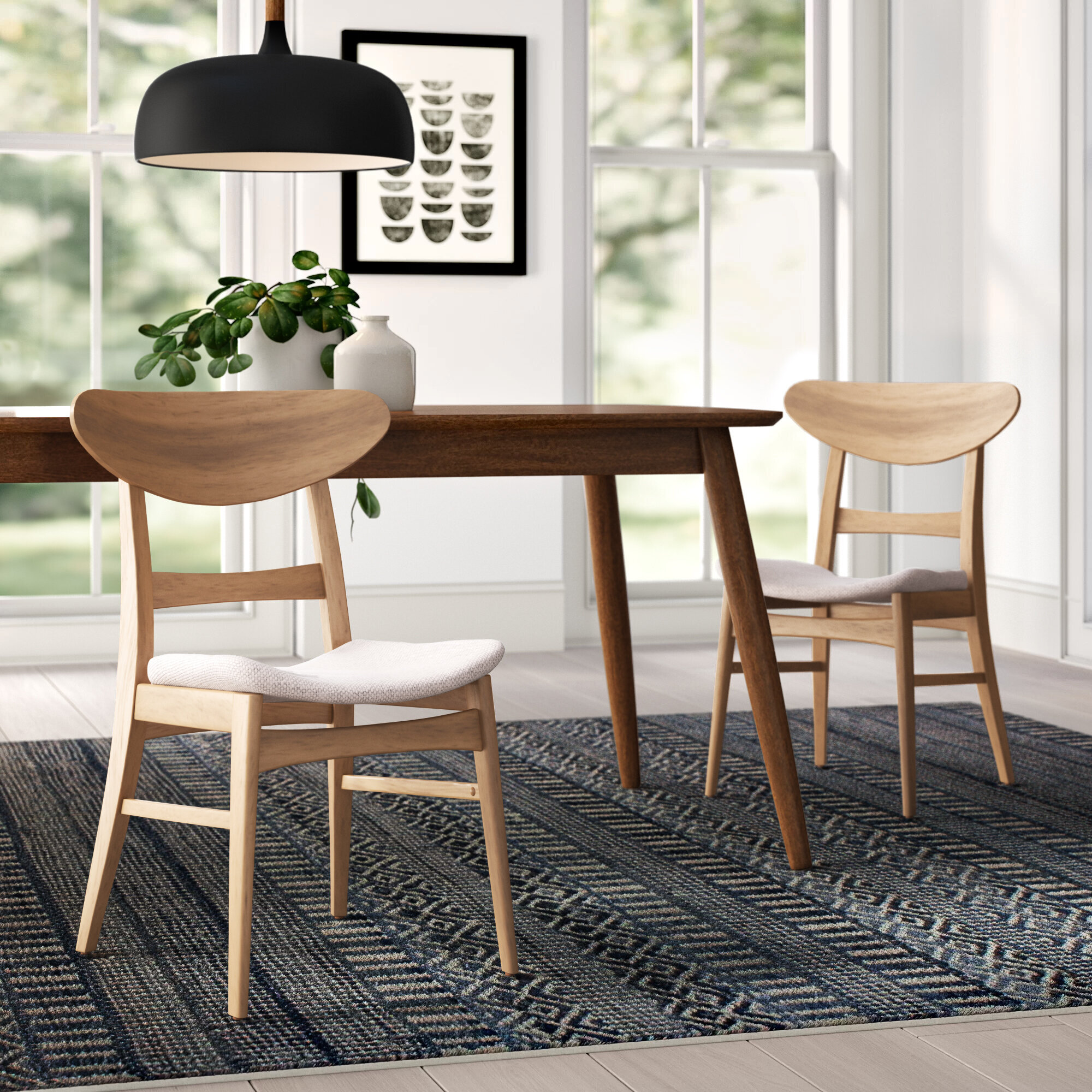 Hahn Solid Wood Dining Chair