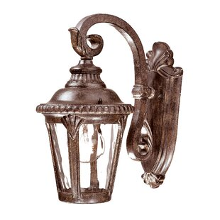 Online Reviews Appel 1-Light Outdoor Cast Aluminium Wall Lantern By Astoria Grand