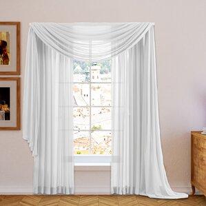 sheer curtains & drapes you'll love | wayfair