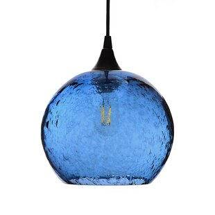 Brayden Studio Sandie 1-Light Dome Pendant