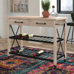 Trent Austin Design Adelbert 2 Drawer Bar Cart