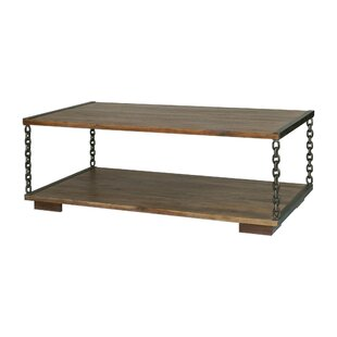 17 Stories Evie Chain Link Coffee Table