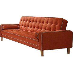 Orren Ellis Navi Twill Sleeper Sofa