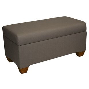 Skyline Furniture Bernadette Linen Upholstered Storage Bench