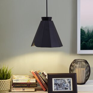 Aries 1-Light Cone Pendant by 17 Stories