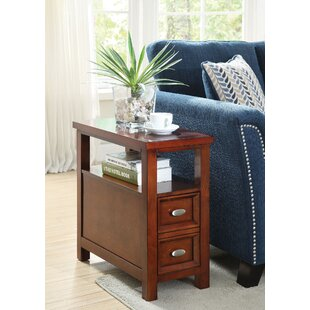 Gwaltney End Table with Storage