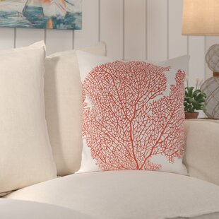 Holdrege Coral Escape Throw Pillow (Set of 2)