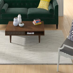 Mitcham Hand-Knotted Wool Ivory Area Rug