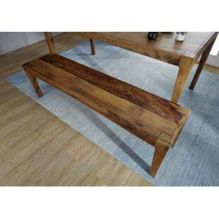 Ancona Wood Bench By Massivmoebel24