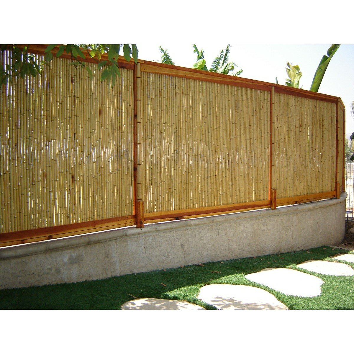 Backyard X Scapes Rolled Bamboo Privacy Screen Reviews