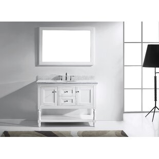 Affordable Cicely 49 Single Bathroom Vanity Set with Mirror By Gracie Oaks