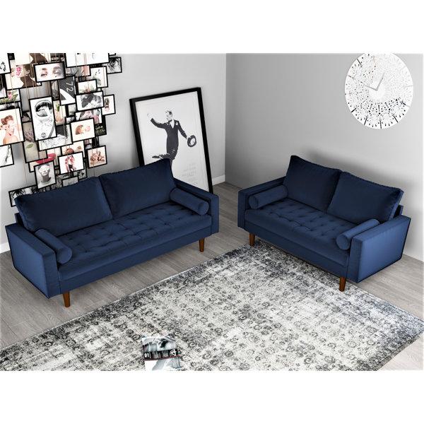Mercer41 Womble 2 Piece Living Room Set Reviews Wayfair
