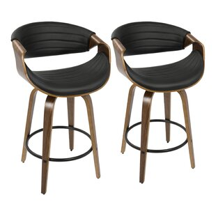 Zigler 26 Swivel Bar Stool (Set of 2) Langley Street