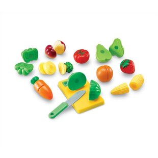 Best 23 Piece Pretend and Play Sliceable Fruits and Veggies Set ByLearning Resources