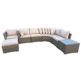 Borneo 7 Piece Sectional Set with Cushions