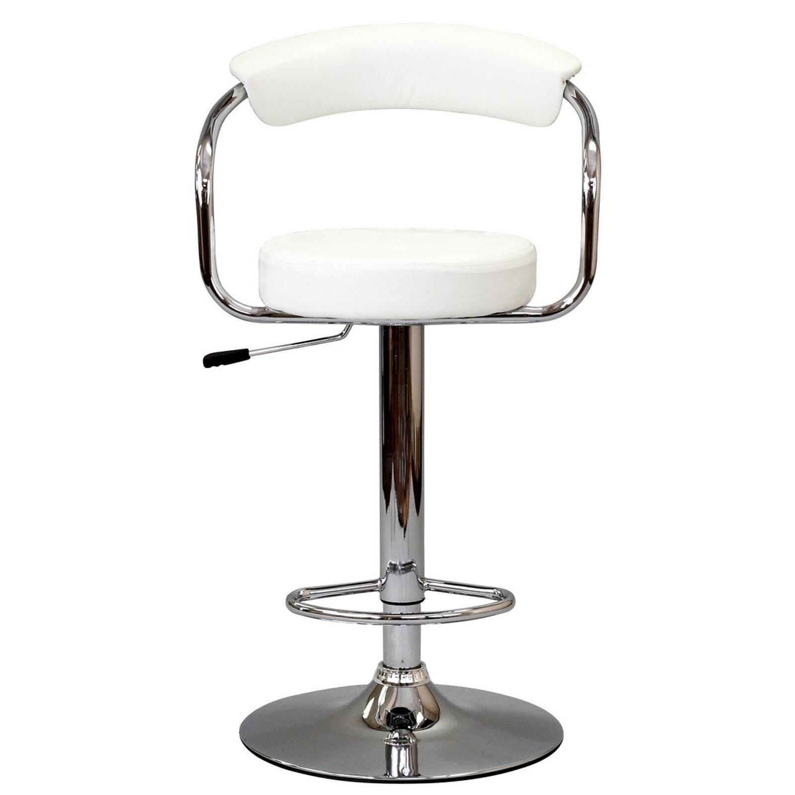 EEI-930-BLK Black Modway Furniture Diner Bar Stool Set of 2