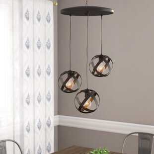 Frome 3-Light Globe Chandelier