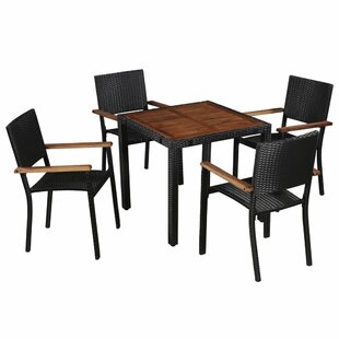 Katniss 4 Seater Dining Set By Sol 72 Outdoor