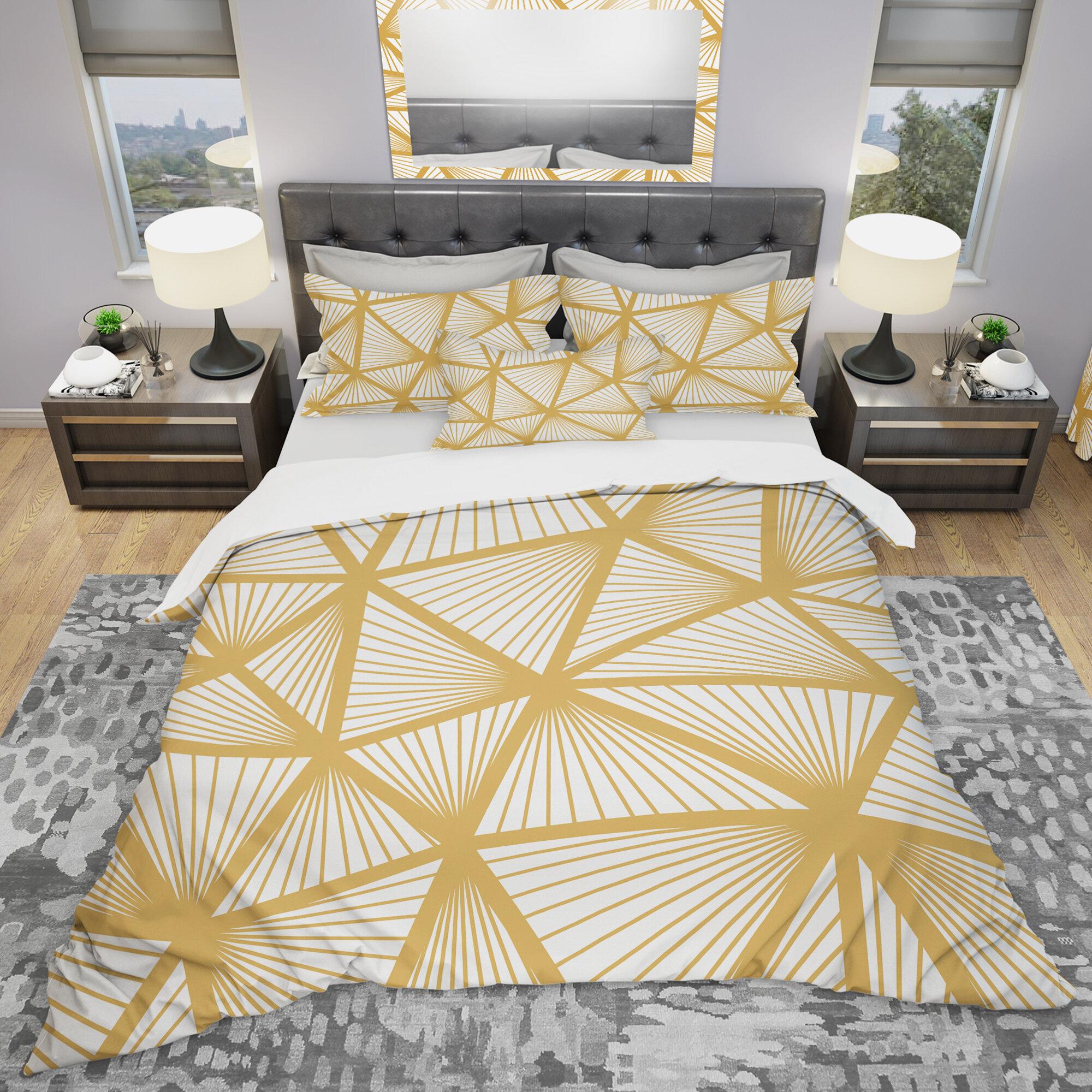 East Urban Home Modern Duvet Cover Set