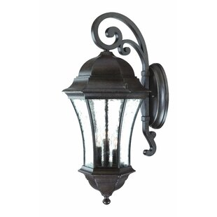 Prestbury 3-Light Outdoor Wall Lantern