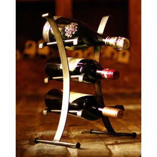 3 Bottle Tabletop Wine Bottle Rack by Nov..