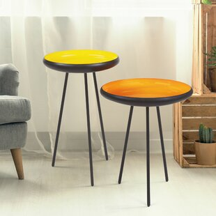Graddy 2 Piece Nesting Tables by Latitude..