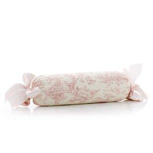 Madelynn Toile Roll Bolster Pillow