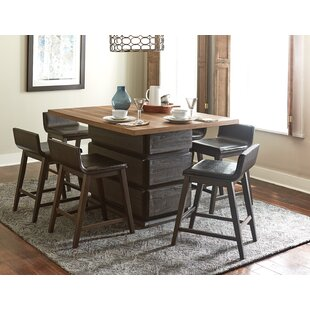 Carol 7 Piece Pub Table Set Gracie Oaks