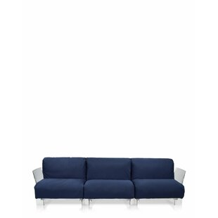 Kartell Pop Outdoor Three Seater Sofa