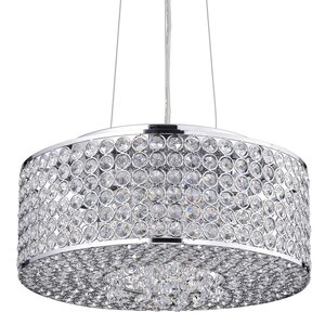 Corona 4-Light Crystal Chandelier