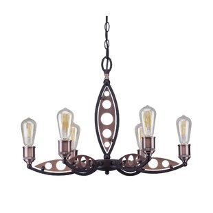 Williston Forge Glover 6-Light Candle Sty..