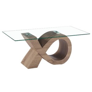 Alpha Glass Coffee Table by Fab Glass and Mirror
