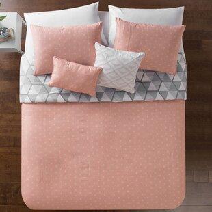 Wrought Studio Vercher Reversible Comforter Set