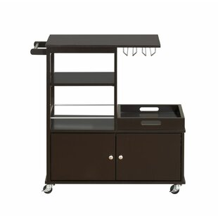 Moncrief Kitchen Cart Winston Porter