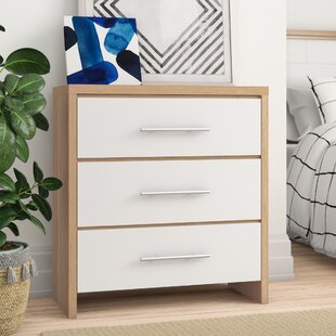 Gia 3 Drawer Chest Of Drawers By Zipcode Design