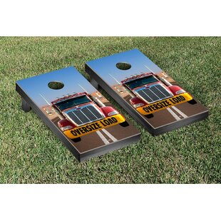 Big Rig Oversized Load Cornhole Game Set by Victory Tailgate