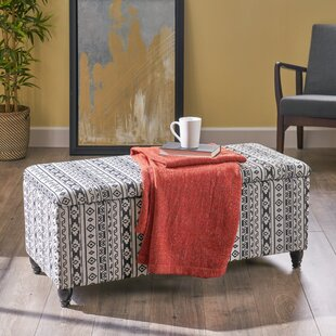 Frasure Storage Ottoman by World Menagerie