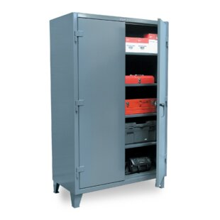 66H x 60W x 24D 2 Door Storage Cabinet by Strong Hold Products