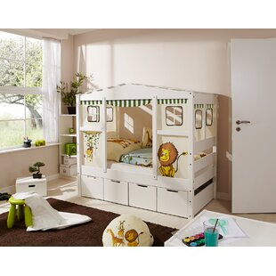Josefa European Toddler House Bed With Drawers By Zoomie Kids
