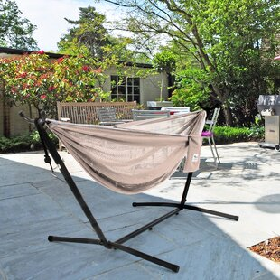Terrence Double Hammock With Stand By Freeport Park