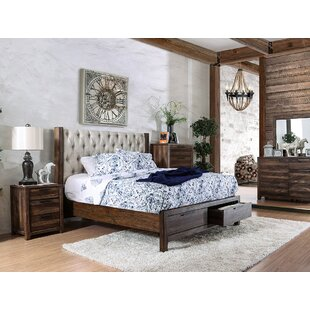 Best Choices Geismar Upholstered Storage Platform Bed by Gracie Oaks Reviews (2019) & Buyer's Guide