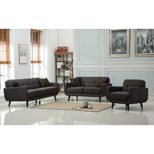Best Modibella 2 Piece Living Room Set by Roundhill Furniture Reviews (2019) & Buyer's Guide