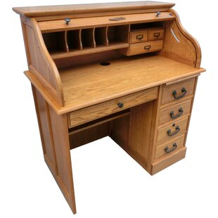 Clover Secretary Desk with Hutch by August Grove