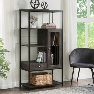 Callas 61 H x 314 W Metal Library Bookcase by 17 Stories