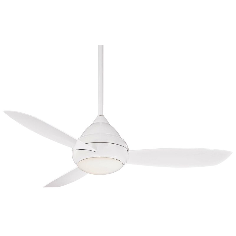 Minka aire 52 concept i wet led 3 blade outdoor ceiling fan wayfair 52 concept i wet led 3 blade outdoor ceiling fan aloadofball Choice Image