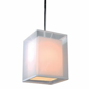 Latonya 1-Light Square/Rectangle Pendant by Zipcode Design