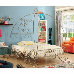 Wellman Canopy Bed by Zoomie Kids Wonderful