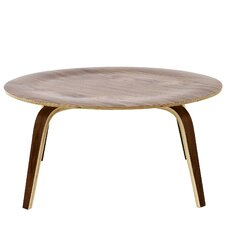 Plywood Coffee Table by Modway