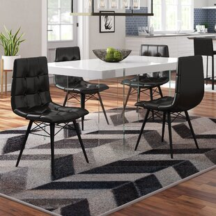 Comparison Botelho Upholstered Dining Chair (Set of 4) by Brayden Studio Reviews (2019) & Buyer's Guide